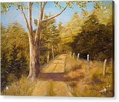 Back Road Acrylic Print