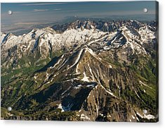 Back Side Of The Pfiefferhorn With Box Acrylic Print