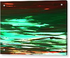 Back To Canvas The Landscape Of The Acid People Acrylic Print