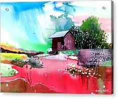 Back To Pavilion Acrylic Print by Anil Nene