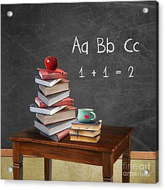 Back To School Acrylic Print