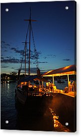 Back To The Port Acrylic Print