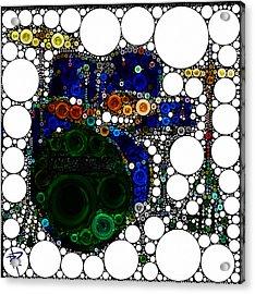 Backbeat Bubbles Acrylic Print by Russell Pierce