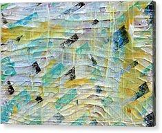 Backbeat Acrylic Print by Regina Valluzzi