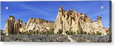 Backroads Utah Panoramic 2 Acrylic Print by Mike McGlothlen
