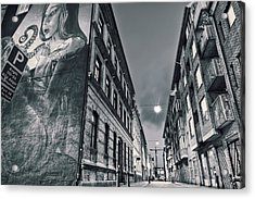 Backstreets Acrylic Print by EXparte SE