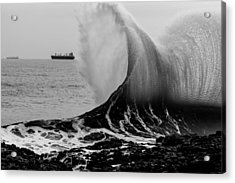 Backwash Acrylic Print