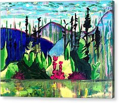 Backwoods 2 Acrylic Print