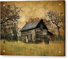 Backwoods Cabin Acrylic Print