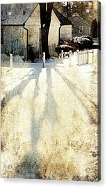 Backyard Acrylic Print
