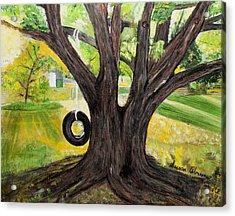 Backyard Tree Memories Acrylic Print