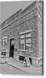 Bacon Building Acrylic Print by Alan Look