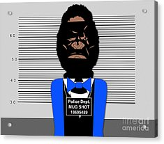 Bad Boy Acrylic Print by Marvin Blaine