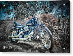 Bad Boy Acrylic Print by William Reek