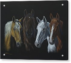 Bad Boys Of Horsefeathers Farm Acrylic Print