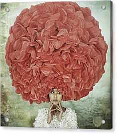 Bad Hair Day Acrylic Print