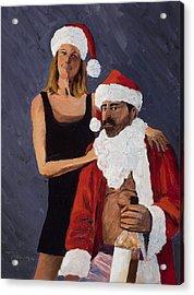 Bad Santa II Acrylic Print