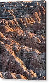 Badlands Light Acrylic Print