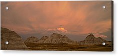 Badlands Softlight South Dakota Acrylic Print
