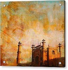 Badshahi Mosque Acrylic Print