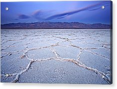 Badwater Dawn Acrylic Print by Darren  White