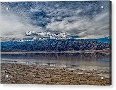 Badwater Reflection Acrylic Print