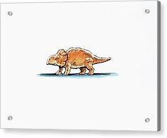 Bagaceratops Dinosaur Acrylic Print