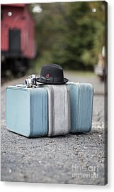 Bags All Packed Ready To Go Acrylic Print by Edward Fielding