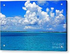 Bahama Blues 5 Acrylic Print