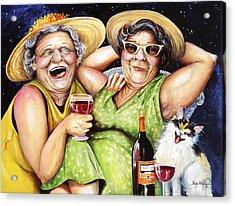 Bahama Mamas Acrylic Print by Shelly Wilkerson