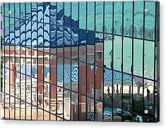 Bahamas Beach Pavilion Acrylic Print