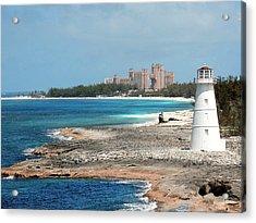 Bahamas Lighthouse Acrylic Print
