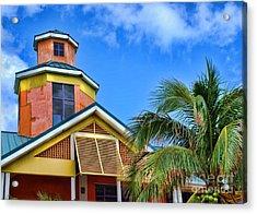 Bahamas Pastels Acrylic Print by Alexandra Jordankova