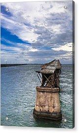 Bahia Honda Bridge By Day Acrylic Print by Dan Vidal