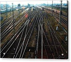 Bahnhof Cottbus Acrylic Print