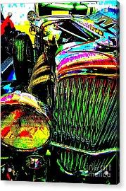 Bahre Car Show 156 Acrylic Print by George Ramos