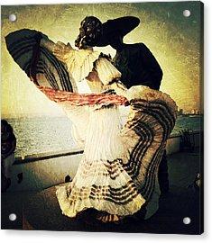 'bailarines De Vallarta' By Jim Demetro Acrylic Print