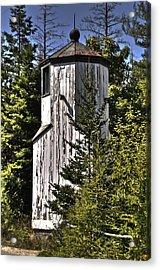 Acrylic Print featuring the photograph Baileys Harbor Range Lighthouse by Deborah Klubertanz