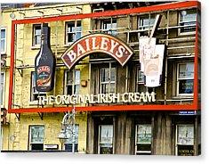 Baileys Irish Cream Acrylic Print