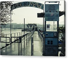 Acrylic Print featuring the photograph Bains Des Paquis by Muhie Kanawati