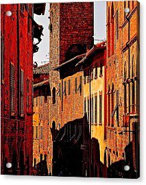 Baked In The Tuscan Sun Acrylic Print by Ira Shander