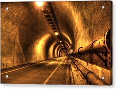 Baker Barry Tunnel Acrylic Print