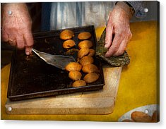 Baker - Food - Have Some Cookies Dear Acrylic Print by Mike Savad