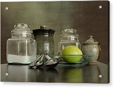 Baker's Kitchen Acrylic Print by Matthew Schwartz