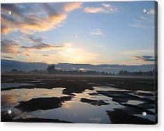 Acrylic Print featuring the photograph Bakersfield Sunrise by Meghan at FireBonnet Art