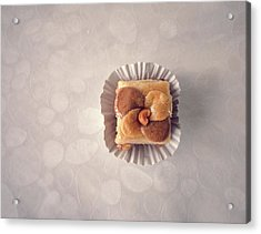 Baklawa With Almonds Acrylic Print by Samere Fahim Photography