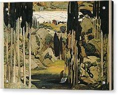 Bakst, Léon 1866-1924. Daphnis Et Acrylic Print by Everett