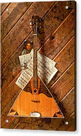 Balalaika Acrylic Print by Garry Gay