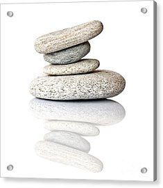Balanced Acrylic Print by Delphimages Photo Creations