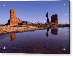 Balanced Reflection Acrylic Print
